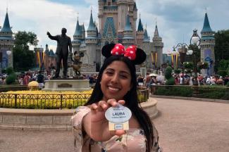 Verano Disney deja gran aprendizaje profesional a alumna UMAD