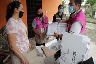 El INE gastó el 66% de su presupuesto en capacitación, organización e insumos para la jornada electoral