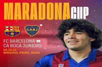 Barcelona y Boca Juniors jugarán la 'Maradona Cup'