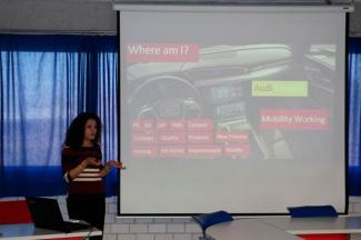 Egresada UMAD relata experiencia de éxito tras prácticas en Audi