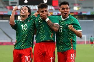 México goleó a Francia