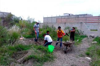 Trabajar desde las comunidades, misión de la reconstrucción del tejido social
