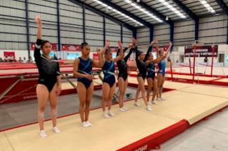Clasifican 12 gimnastas de trampolín a Juegos CONADE 2020