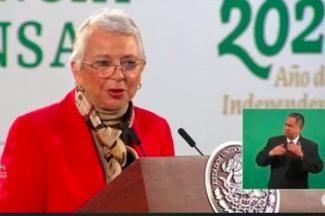 Se pronuncia Olga Sánchez a favor de regular la producción de amapola