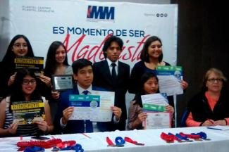Alumnos del IMM viajarán a China y España para participar en Ferias Internacionales de Ciencias