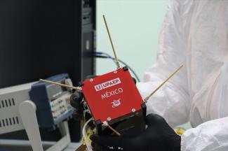 Cumple con éxito su misión el primer nanosatélite mexicano Aztechsat-1