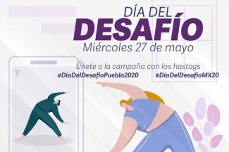 Invita INPODE a participar en el Día del Desafío 2020