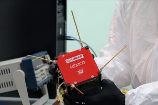 NASA pospone unos días despliegue del nanosatélite 100 % mexicano