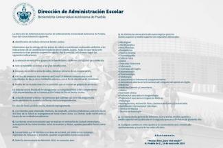 La BUAP alista convocatoria de Admisión para la segunda quincena de marzo