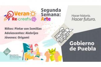 Promueve Secretaría de Educación actividades artísticas entre estudiantes