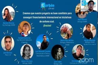 Propuesta de universitarios para preservar ecosistema triunfa en Ocean Hackathon 2020