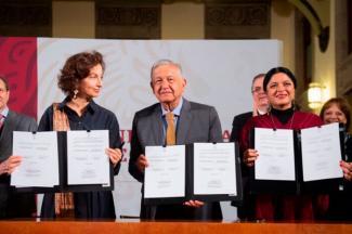 AMLO celebra resistencia de lenguas indígenas; con atención preferente, gobierno fortalece culturas