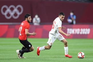 España debutó con un empate sin goles ante Egipto