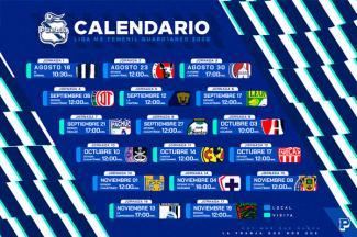 Listo el calendario Guard1anes 2020 para el Puebla Femenil