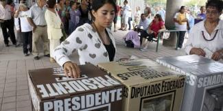 Jóvenes entre 19 y 29 años los que menos votan en México
