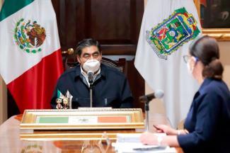 El espionaje en Puebla terminó; mi gobierno nunca lo hará: MBH