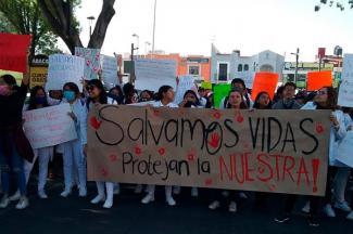 Acciones contundentes para que en Puebla regrese la paz y armonía, exigen universitarios