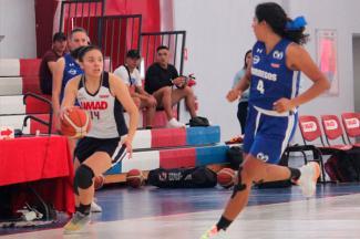 Alexia Lagunas brilló en la Liga ABE