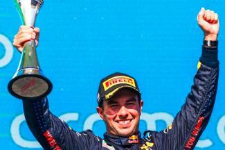 'Checo' Pérez tercero en el GP de Estados Unidos