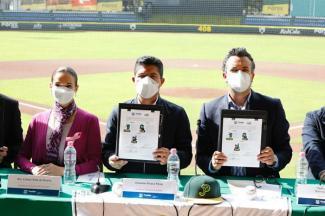 Ayuntamiento de Puebla y pericos firmaron convenio de colaboración