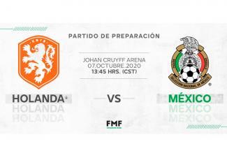 Holanda vs. México ya tiene hora y fecha