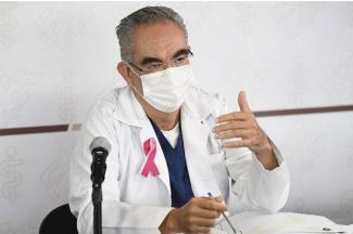 Cierra Puebla semana con tendencia a la baja en casos de COVID-19: Salud