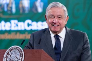 López Obrador se encuentra fuerte, optimista y atendiendo las decisiones del país