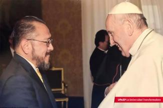 Un Águila en el Vaticano. Papa integra a egresado UPAEP en Pontificia Academia