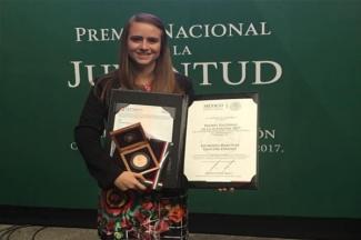 Nominan a alumna del ITESM al Premio Humanitario y de la Paz Global