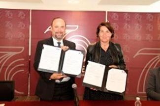 Signan embajadora de Francia y ANUIES Declaración de Intenciones