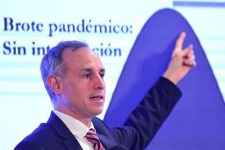 Se reportan ya 54 mil 346 casos acumulados en el país, con 11 mil 394 contagios del personal de Salud: López-Gatell