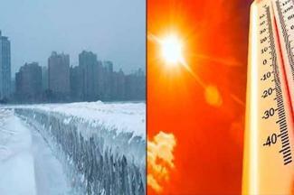 Increíble resistencia del cuerpo humano al frío y al calor excesivos
