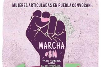 Alistan marcha para el 8 de marzo, demandarán cese a la violencia