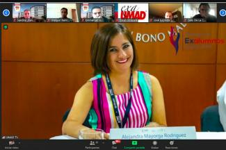 Exalumnos UMAD se reunieron en Reencuentro Virtual