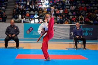 90 Taekwondoines al Regional de los Juegos Nacionales CONADE 2020
