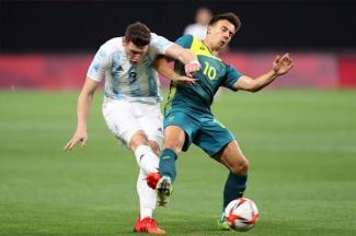 Argentina empieza con derrota ante Australia