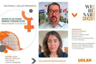 UDLAP edita libro sobre la participación de las mujeres en las Fuerzas Armadas y procesos de paz