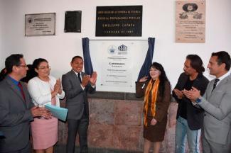 Festeja Preparatoria Emiliano Zapata 50 aniversario