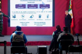 Aeropuerto 'General Felipe Ángeles' presenta avance del 18.1%; genera más de 23 mil empleos directos